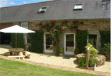 Le Petre pet friendly gite in Brittany